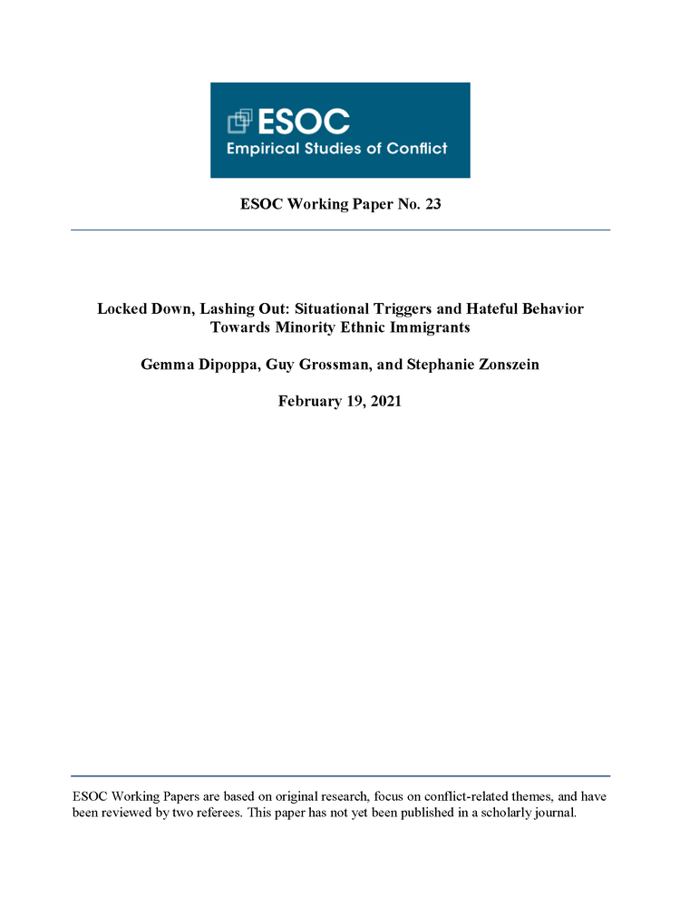ESOC Working Paper 23