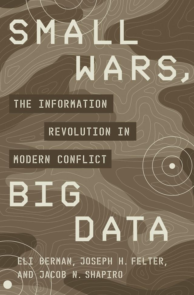 book cover page for small wars big data